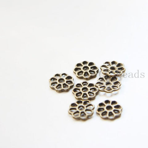 Base Metal Links-Flower 8.5mm (1416Y)