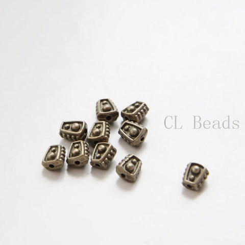 Base Metal Spacers-5x6mm (332Y)