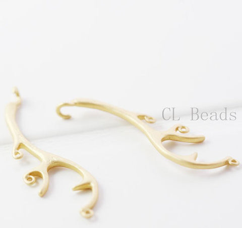 Brass Base Charm - Branch 37x11mm (360C)
