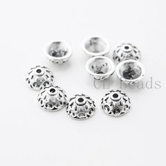 Base Metal Bead Cap - 10x5mm (26341Y)