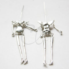 Base Metal Charms - Doll Base 26x76mm (39029Y)