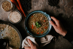Hearty Lentil and Barley Soup