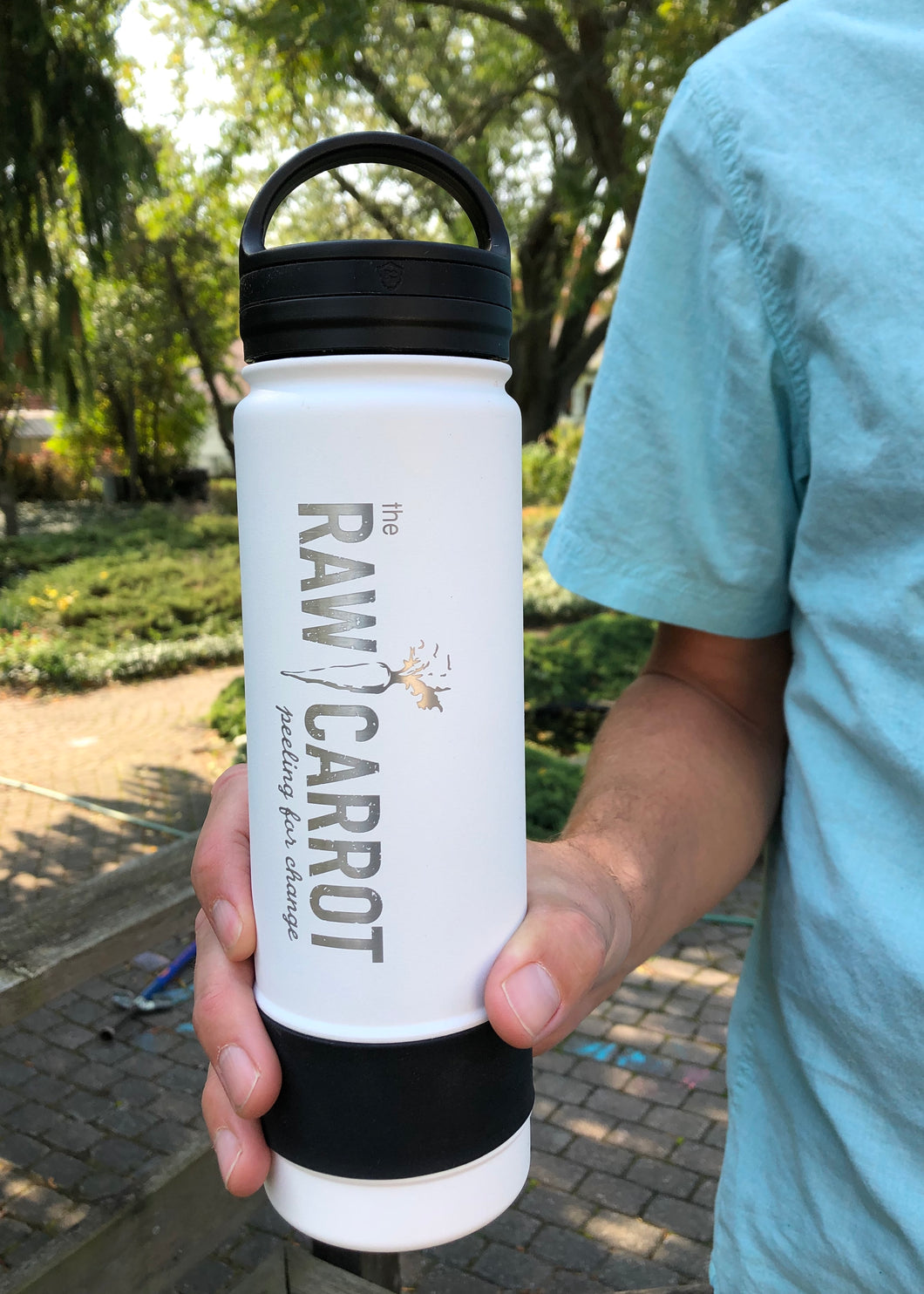 Raw Carrot BottleWorx Water Bottle / Thermos