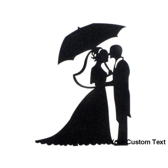 Black Cake Flags Love Heart Cake Topper Bride Groom Bridal Party Cake Decor Engagement Cake Supplies