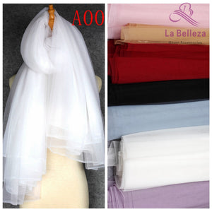"La Belleza 63"" width tulle 95 colors High quality soft hang down mesh for lining /Bride veil"