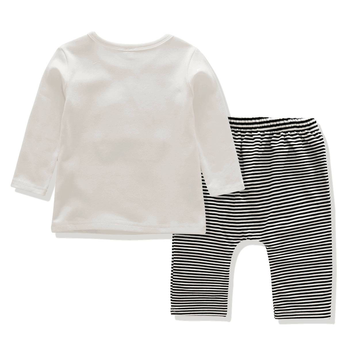 baby long sleeve tshirt pants hat clothing sets