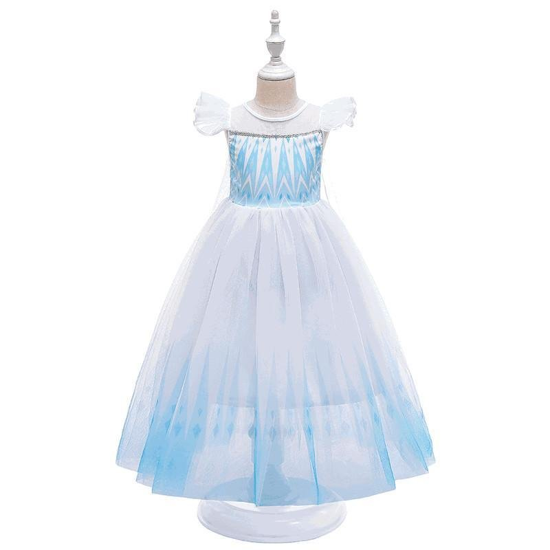 Kids Girls Princess Dresses Costumes 3 Colors (3-12 Years)