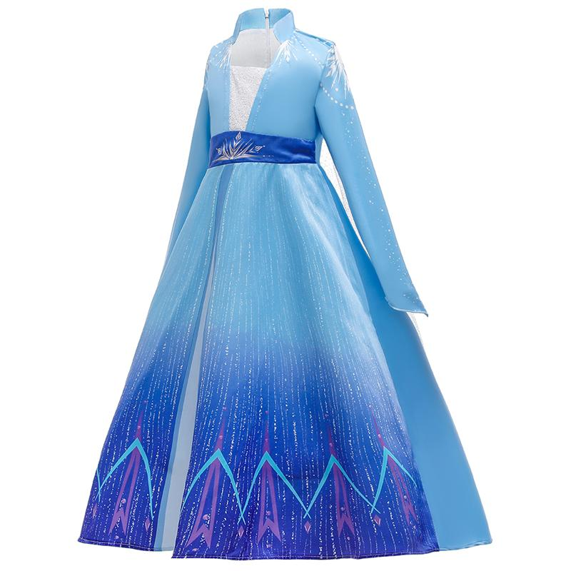 Christmas Little Girls Princess Dresses Up Cosplay Costume (3-12 Years) BX1666