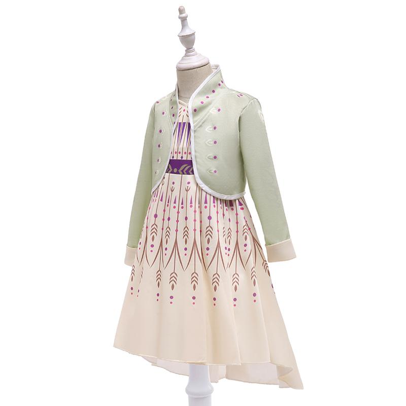 Christmas Little Girls Princess Dresses Up Cosplay Costume (3-11 Years) BX1712