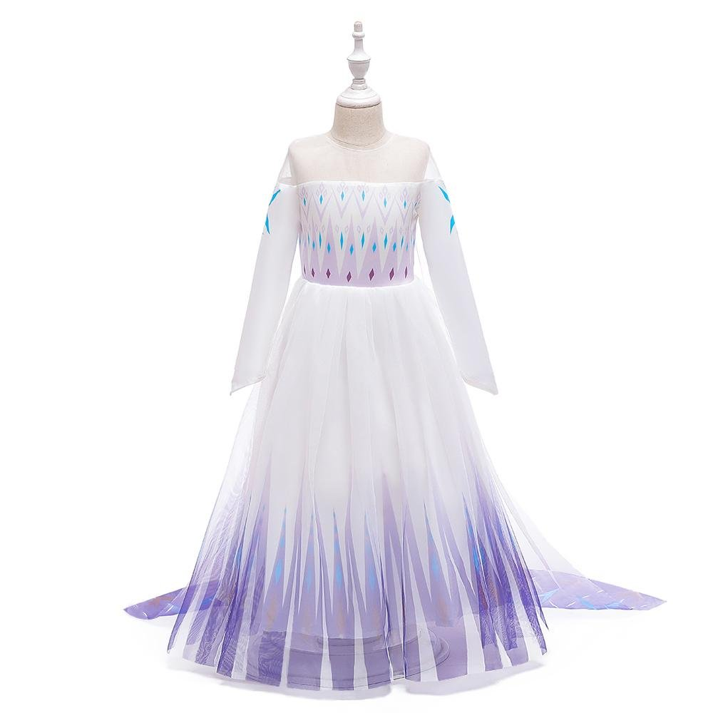 Christmas Girls Princess Dress Up Size 4-12 Years 3 Color Costumes