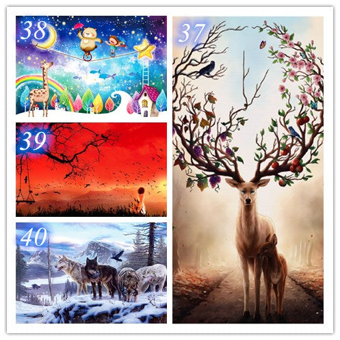 Mini puzzle 150 pieces of small puzzles ,3 sets Value package combination. (You can freely choose the picture you like)
