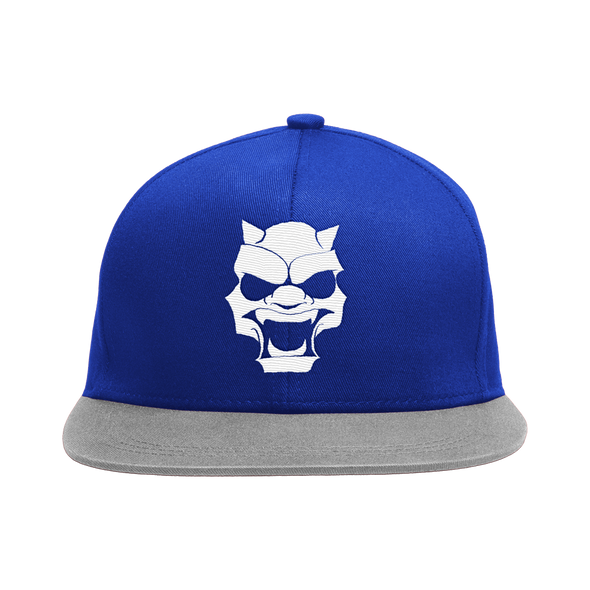 Circle of Sinners Snap Back Hat - Blue and Grey