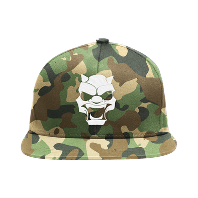 Circle of Sinners Snap Back Hat - Camo