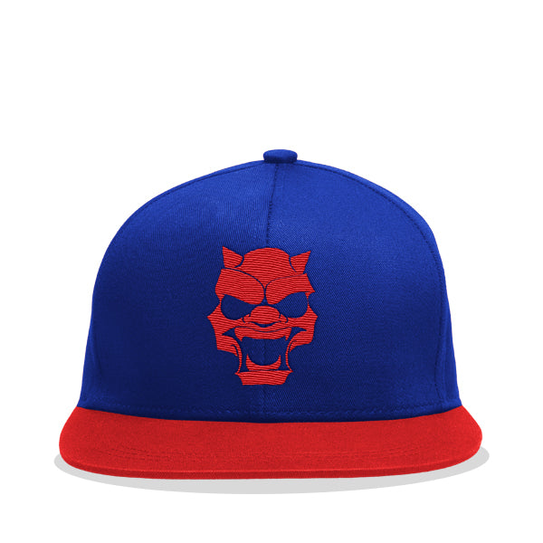 Blue and Red Mens Streetwear Fashion Hat