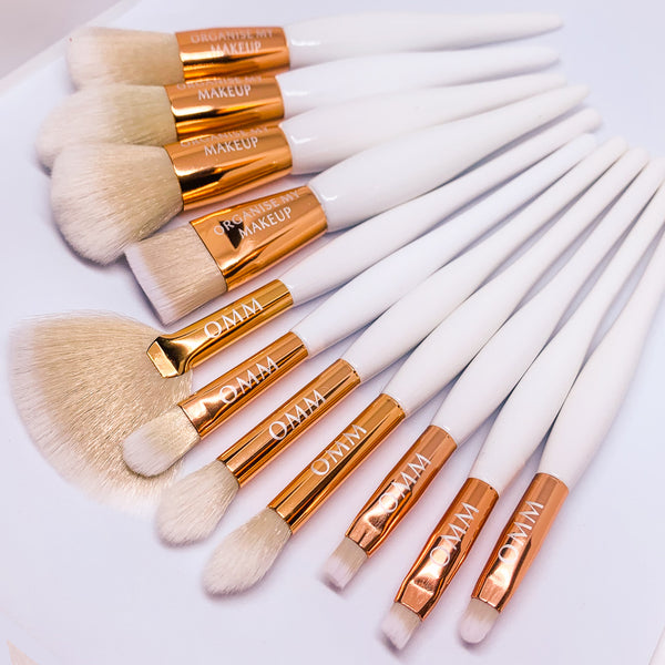 White Gold Luxury 11pcs Full Face Makeup Set