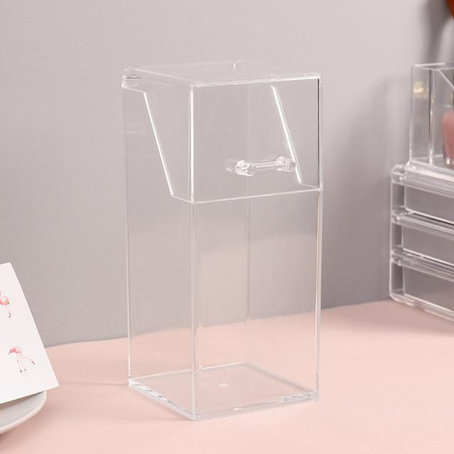 Clear Acrylic Makeup Brush Holders - Organise my makeup