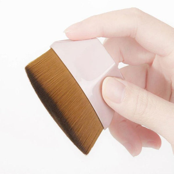 Large Makeup Foundation Contour Flat Brush - Organise my makeup