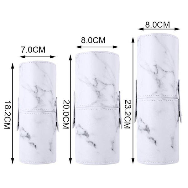 Marble Tube Makeup Cosmetic Brush Organiser Holder - Organise my makeup