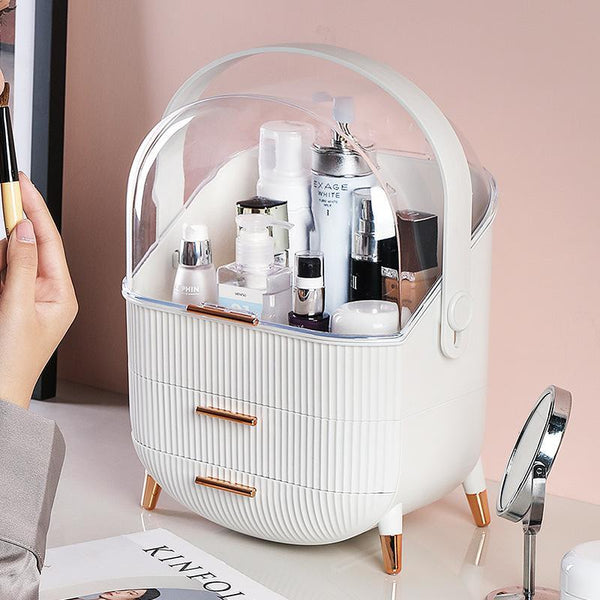 Nordic Large Waterproof Cosmetic Toiletry Storage Box - Organise my makeup