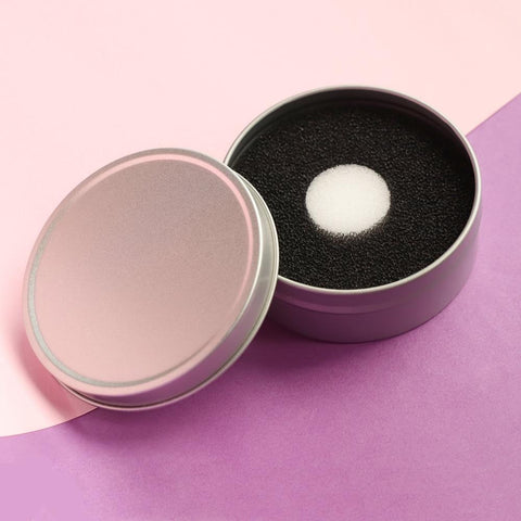 Pink Dry Shadow Blush Cleaner - Organise my makeup