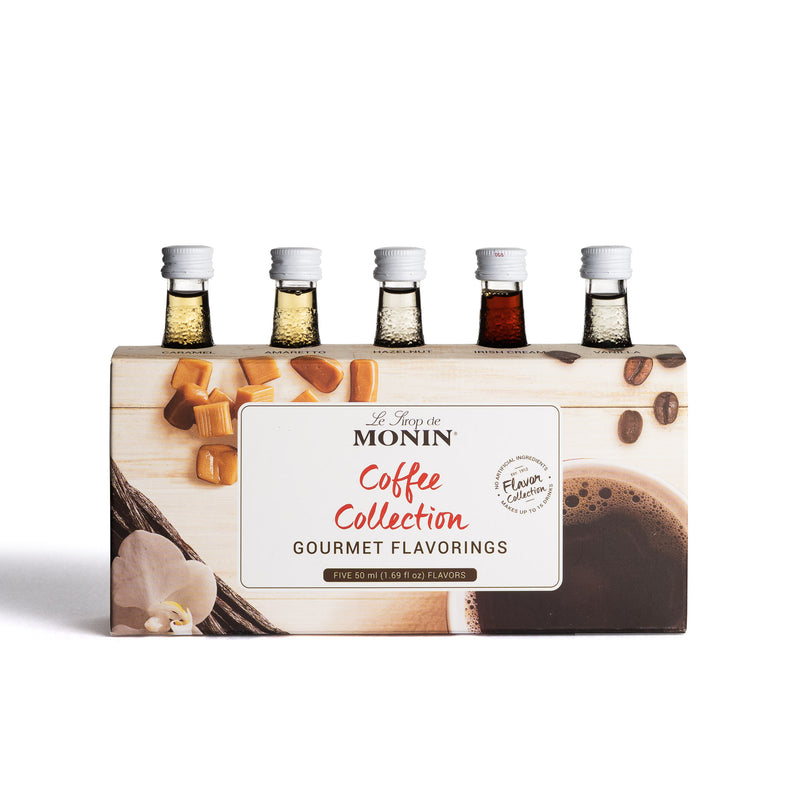 MONIN Coffee Collection Syrup Sampler - Limited Time Only