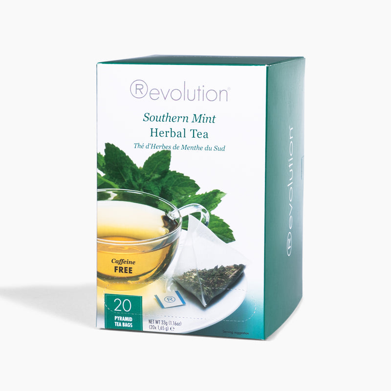 REVOLUTION Southern Mint Caffeine-Free Herbal Tea