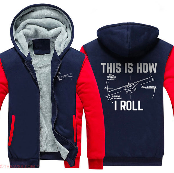 THIS IS HOW WE ROLL DESIGNED HOODIE