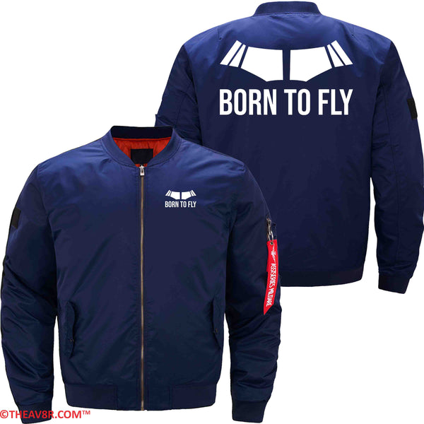 BORN TO FLY DESIGNED MILITARY FLEECE