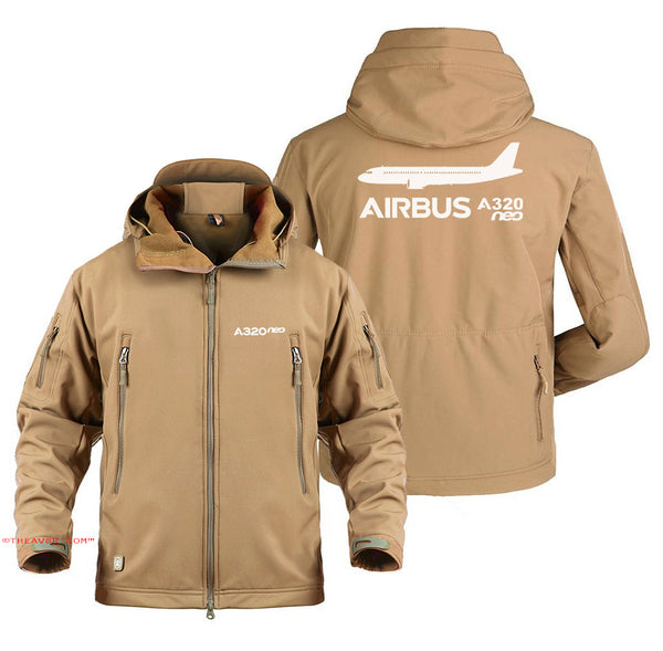 AIRBUS A320  DESIGNED MILITARY JACKET