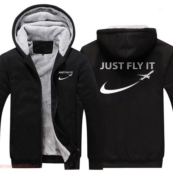 JUST FLY DESIGNED HOODIE