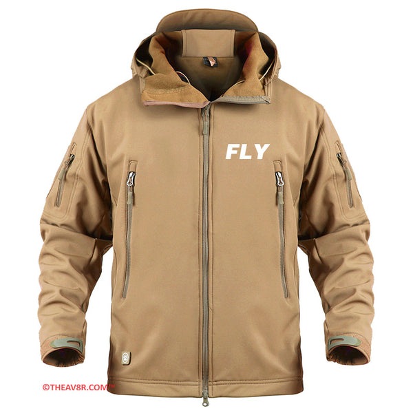 FLY DESIGNED - MILITARY FLEECE