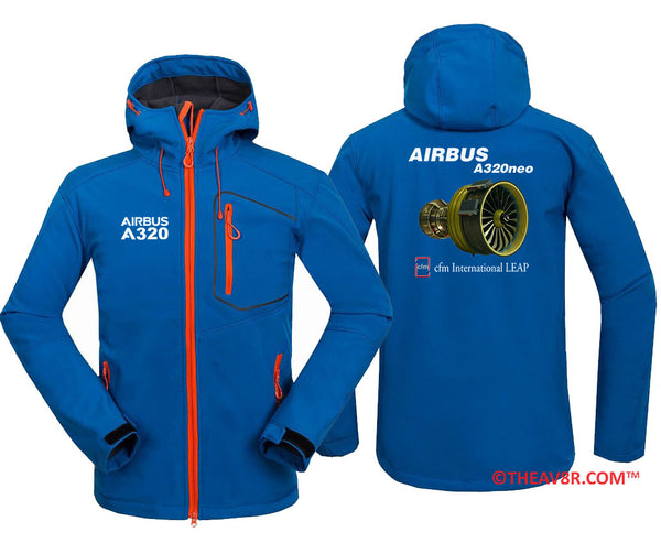 AIRBUS A320 NEO CFM INTERNATIONAL LEAP DESGINED HOODIE