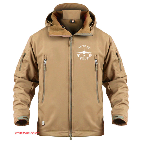 TRUST ME I'M A PILOT DESIGNED- MILITARY FLEECE