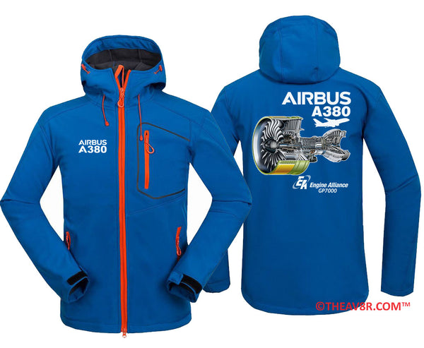 AIRBUS A380 ENGINE ALLIANCE GP7000 DESGINEE HOODIE