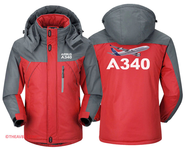 AIRBUS A340 DESIGNED HOODIE