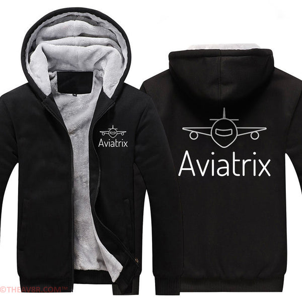 AVIATRIX AND AIRPLANES DESIGNED HOODIE