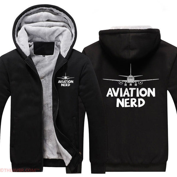 AVIATION NERD DESIGNED HOODIE