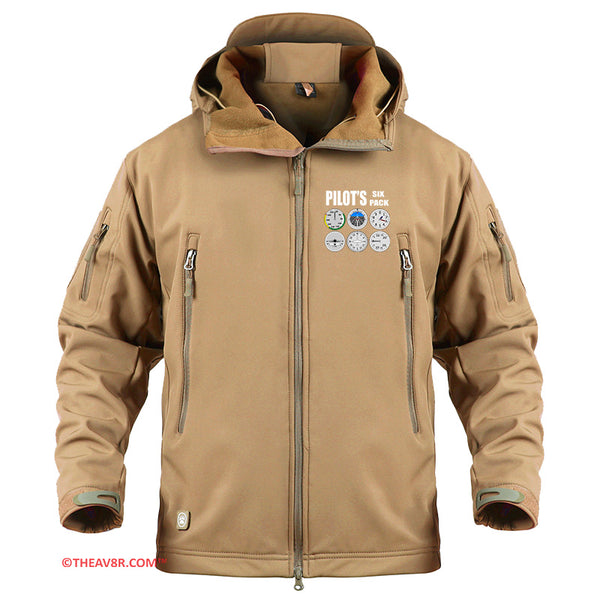PILOT'S SIX PACK DESIGNED - MILITARY FLEECE