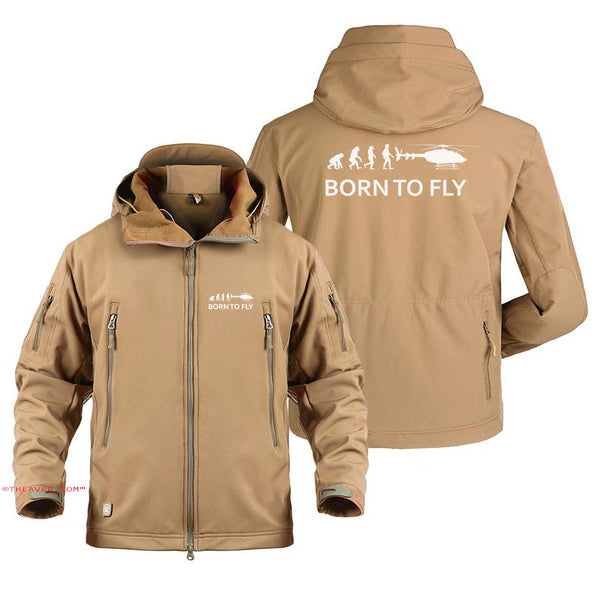 BORN TO FLY DESIGNEE MILITARY FLEECE