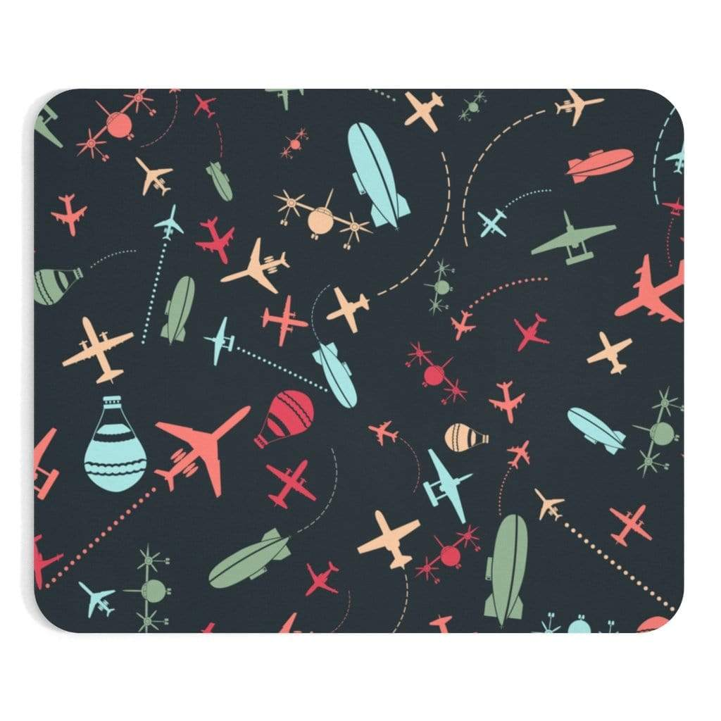 "Printify Home Decor 9""x7.5"" AIRPLANE PATTERN"
