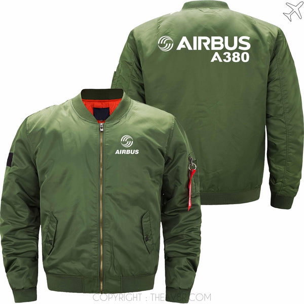 MA1 Jacket Army green thin / S AIRBUS A380  MA1 JACKET