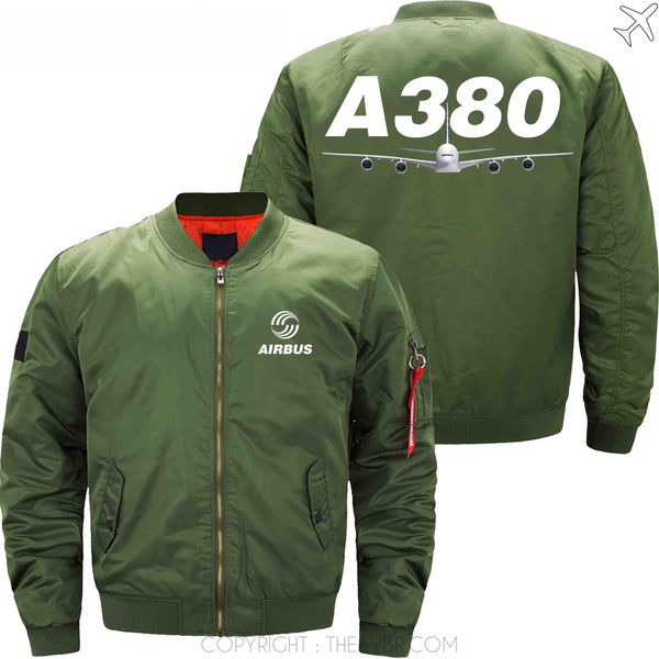 MA1 Jacket Army green thin / XS Airbus A380