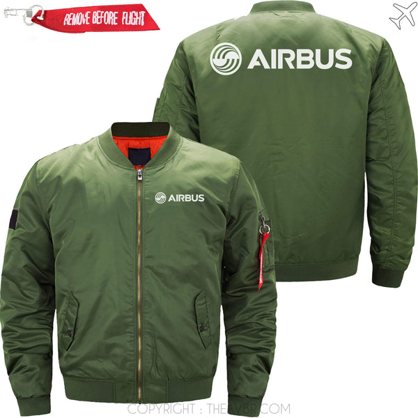 MA1 Jacket Army green thin / XS Airbus Ma1 Jacket