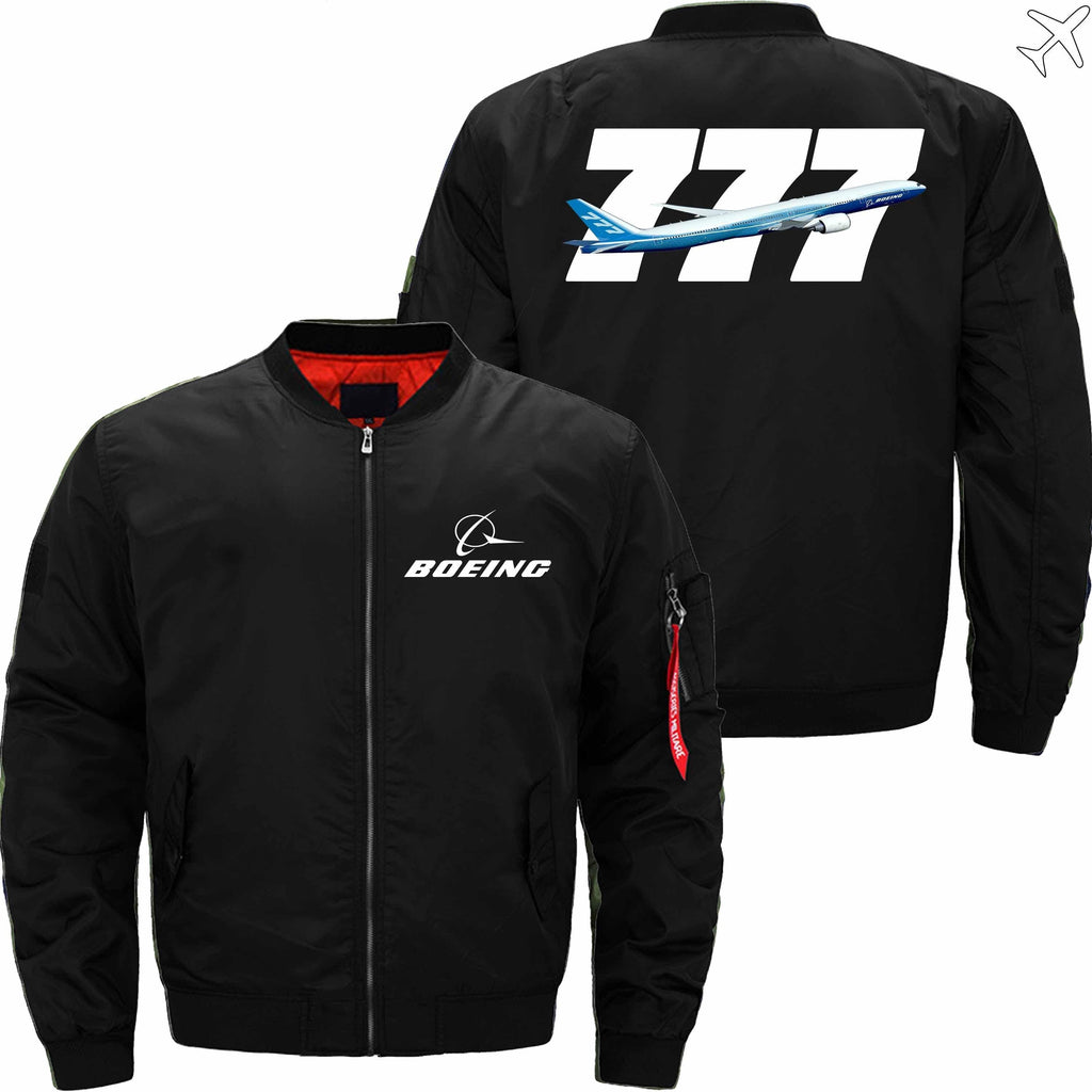 MA1 Jacket Black thin / SX B 777