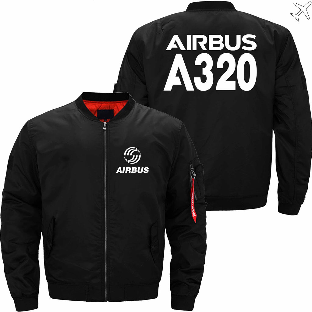 MA1 Jacket Black thin / XS Airbus A320