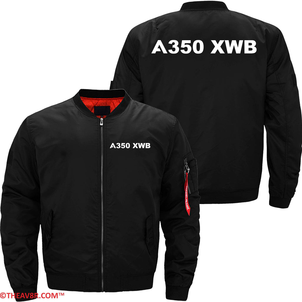 MA1 Jacket Black thin / XS AIRBUS A350 XWB DESIGNED JACKET