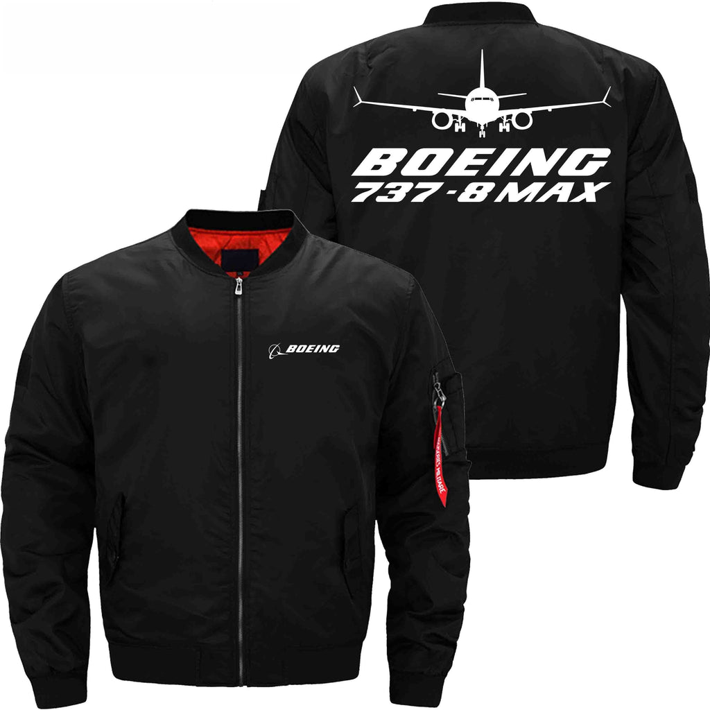 MA1 Jacket Black thin / XS B 737 MAX