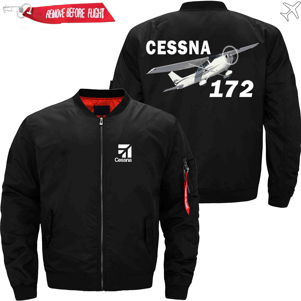 MA1 Jacket Black thin / XS CESSNA 172