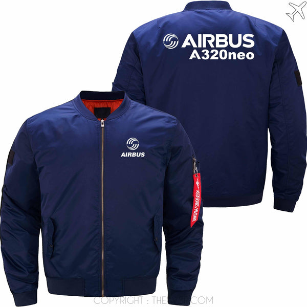 MA1 Jacket Dark blue thin / S Airbus A320neo