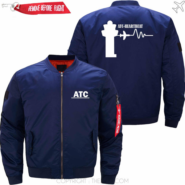 MA1 Jacket Dark blue thin / S (US XXS) ATC- Heartbeat